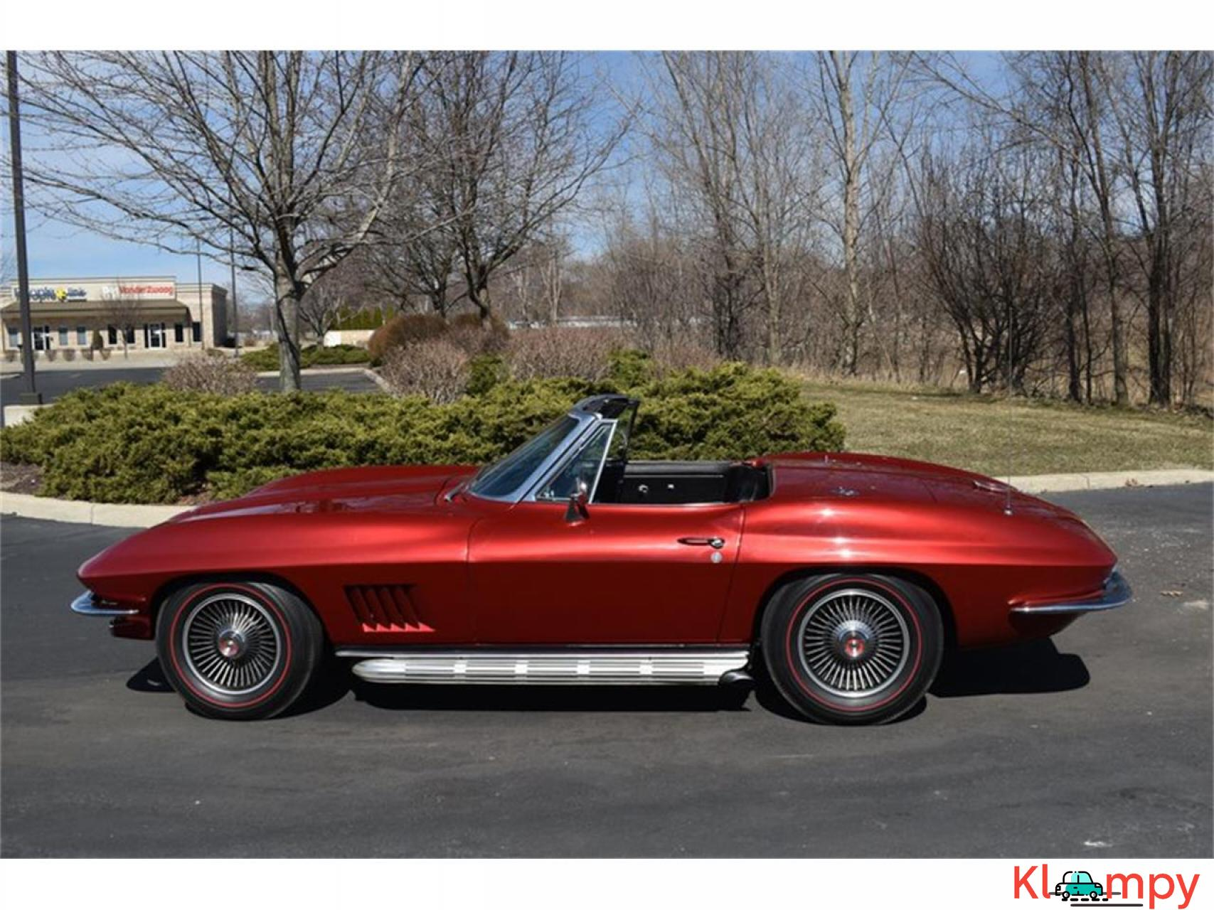 1967 Chevrolet Corvette 350HP 327 Cu In V8 - 3/20