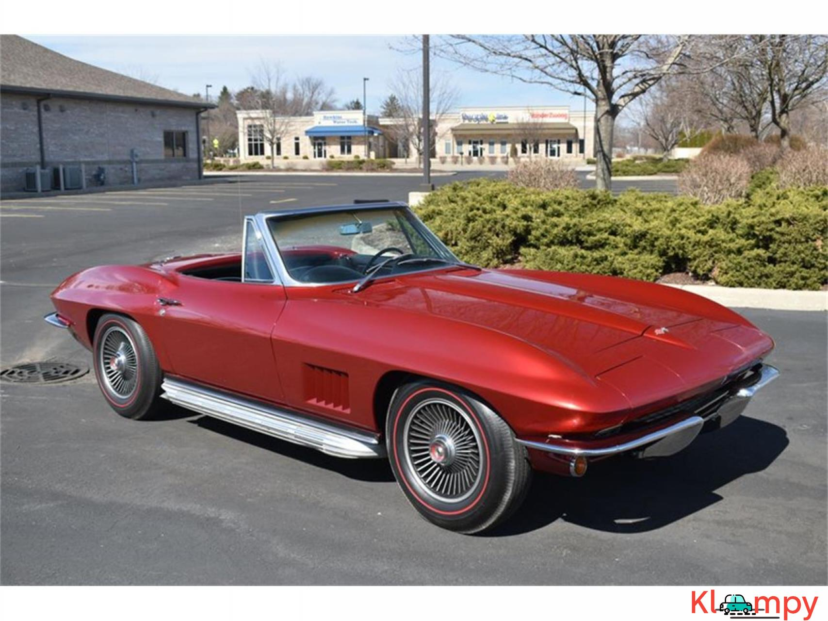1967 Chevrolet Corvette 350HP 327 Cu In V8 - 5/20