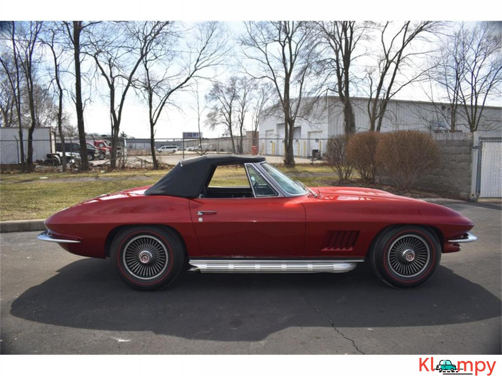 1967 Chevrolet Corvette 350HP 327 Cu In V8 - 10/20