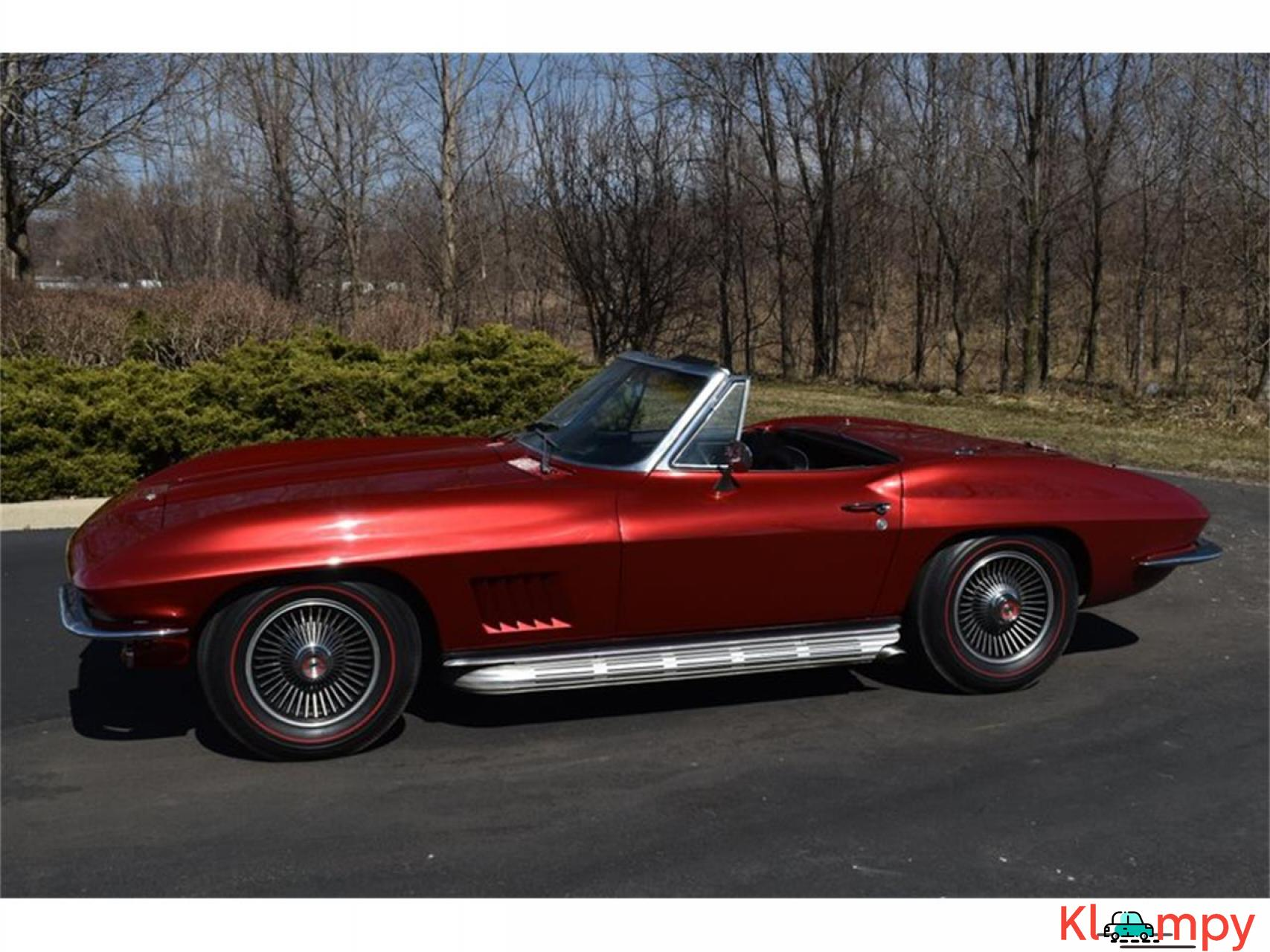 1967 Chevrolet Corvette 350HP 327 Cu In V8 - 18/20