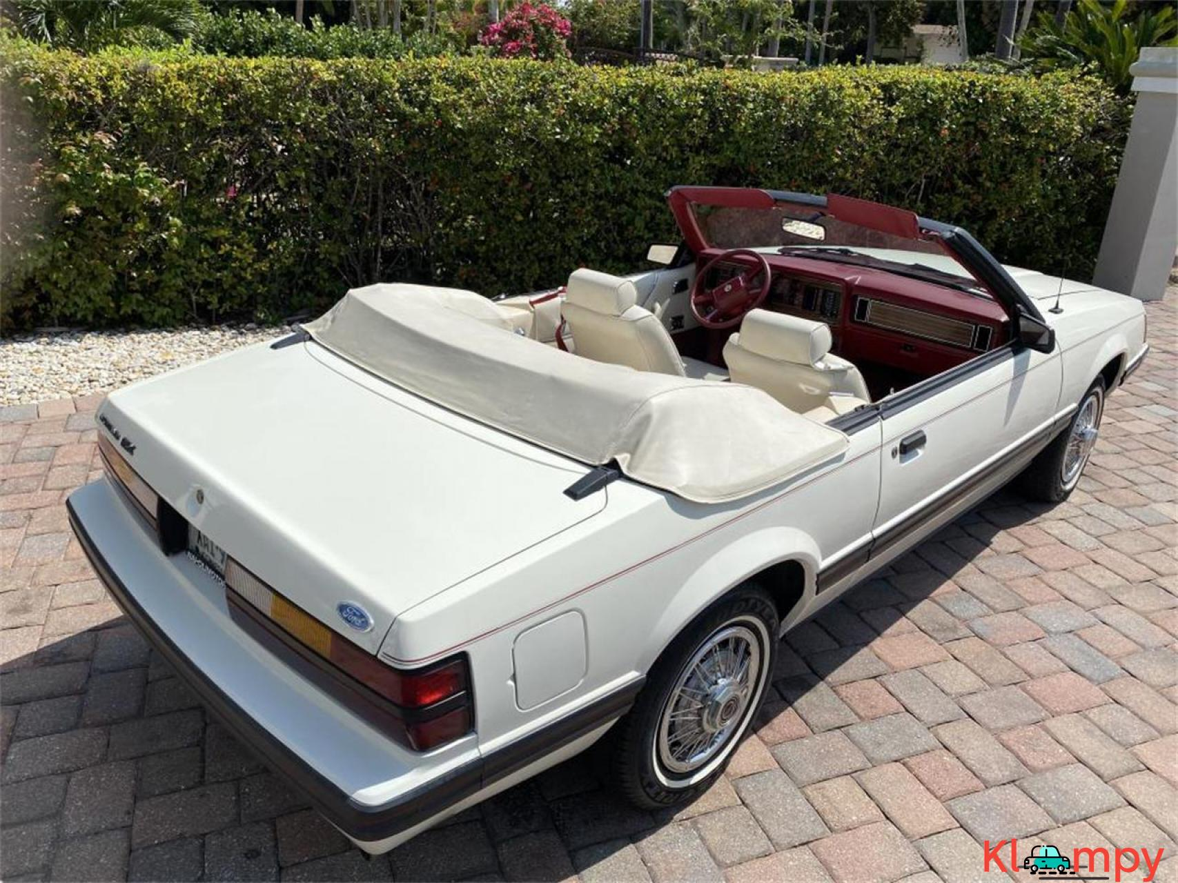1983 Ford Mustang 3.8 LITRE V6 AUTO - 5/20