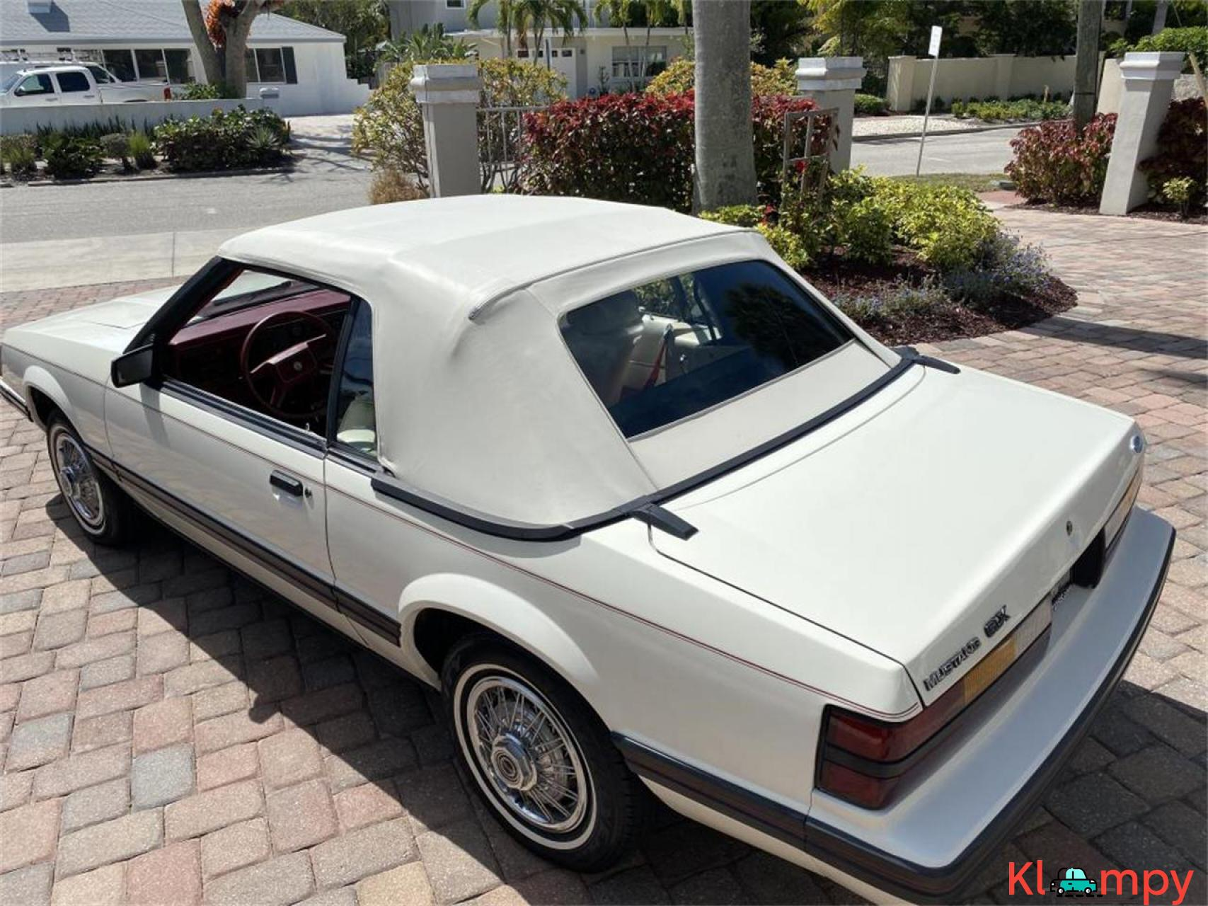 1983 Ford Mustang 3.8 LITRE V6 AUTO - 6/20