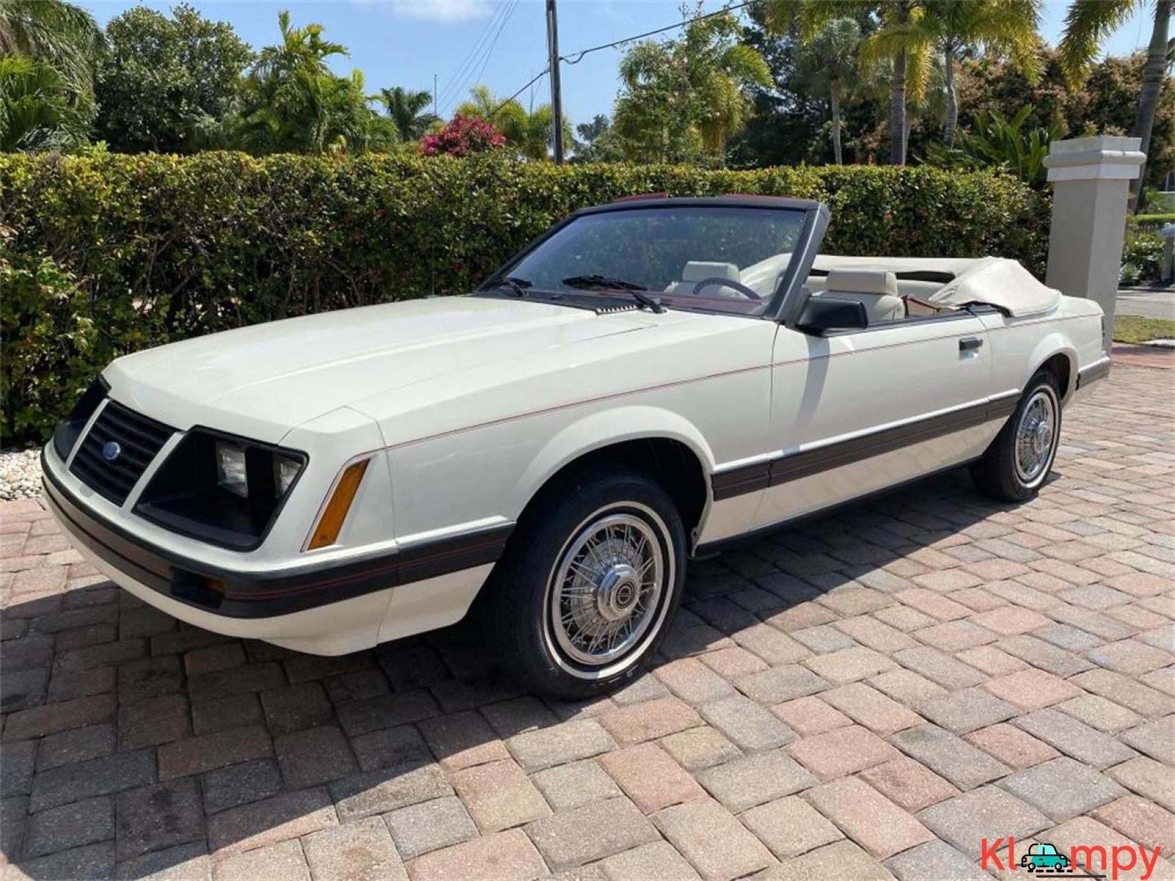 1983 Ford Mustang 3.8 LITRE V6 AUTO - 11/20