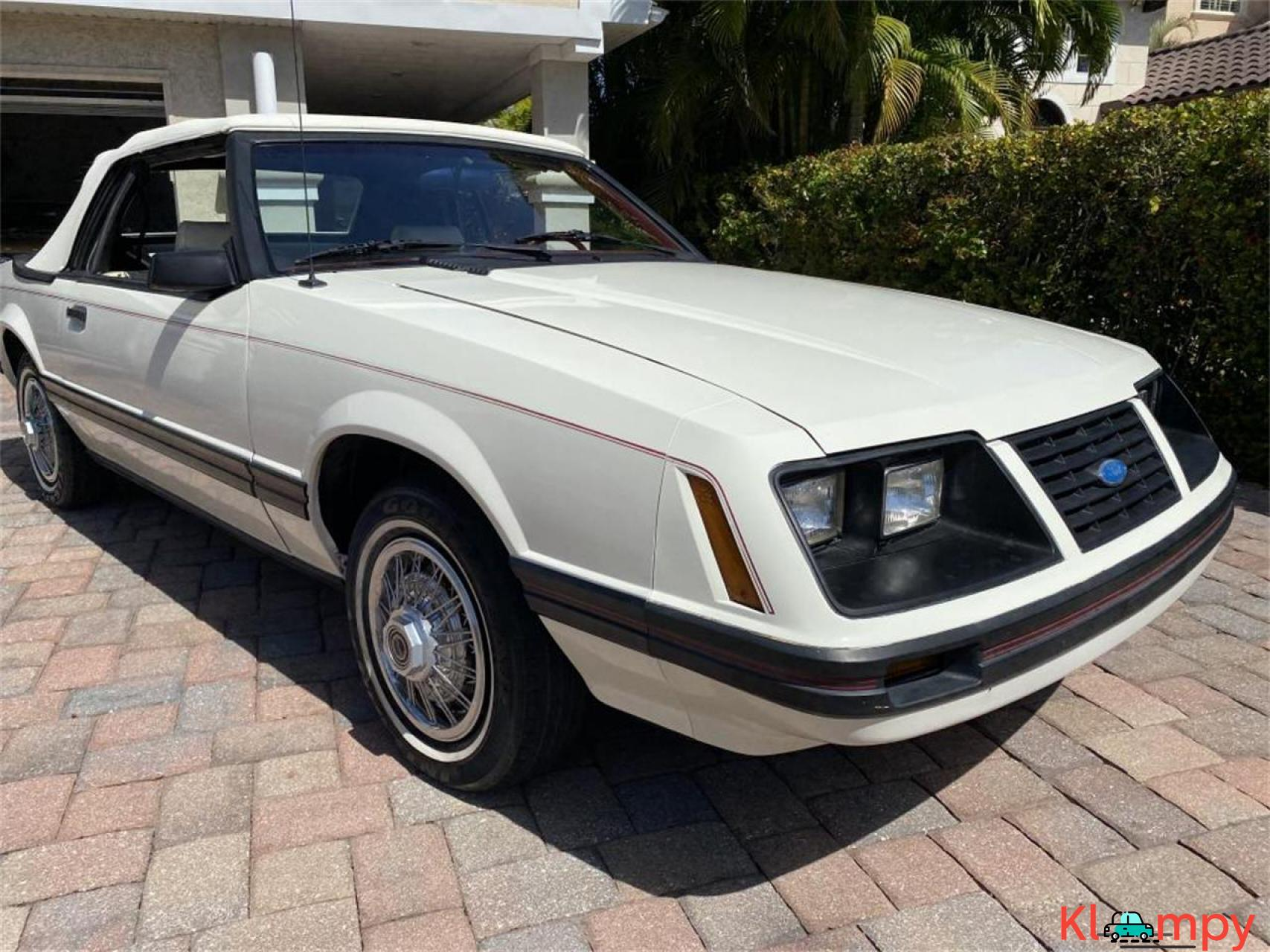 1983 Ford Mustang 3.8 LITRE V6 AUTO - 12/20