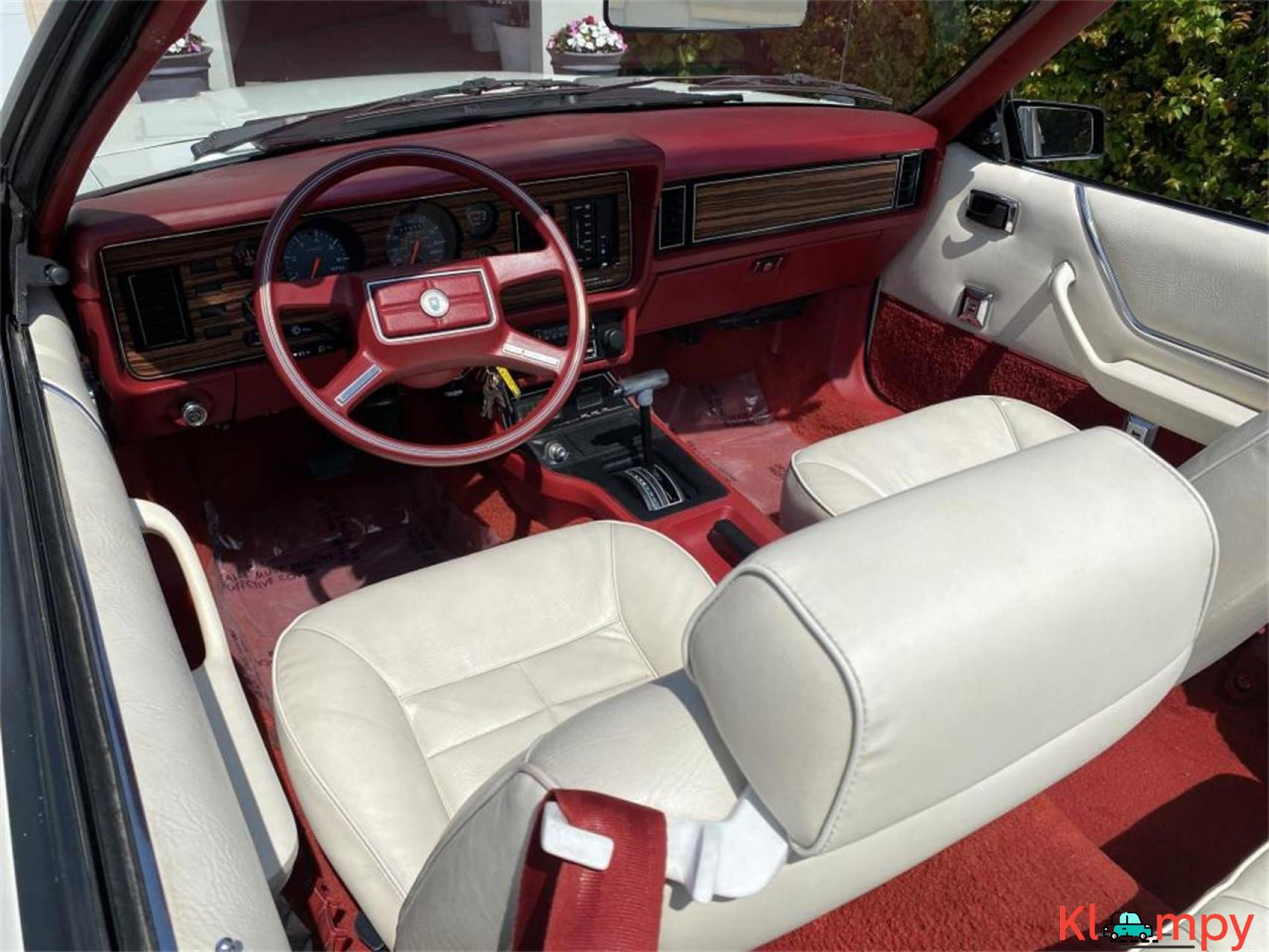 1983 Ford Mustang 3.8 LITRE V6 AUTO - 18/20