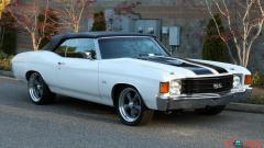 1972 Chevrolet Chevelle Convertible SS Big Block 427