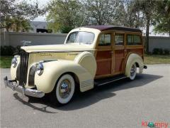 1941 Packard One-Twenty Deluxe Woody Wagon 120Hp