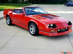 1990 Chevrolet Camaro Iroc-Z Red Convertible Automatic 305 V8