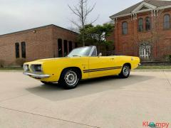 1968 Plymouth Barracuda 318 V8 Automatic Yellow