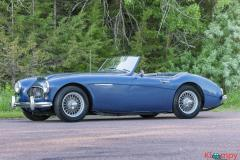 1960 Austin-Healey 3000 Convertible 2.9L Inline 6 Cyl - Image 6/20