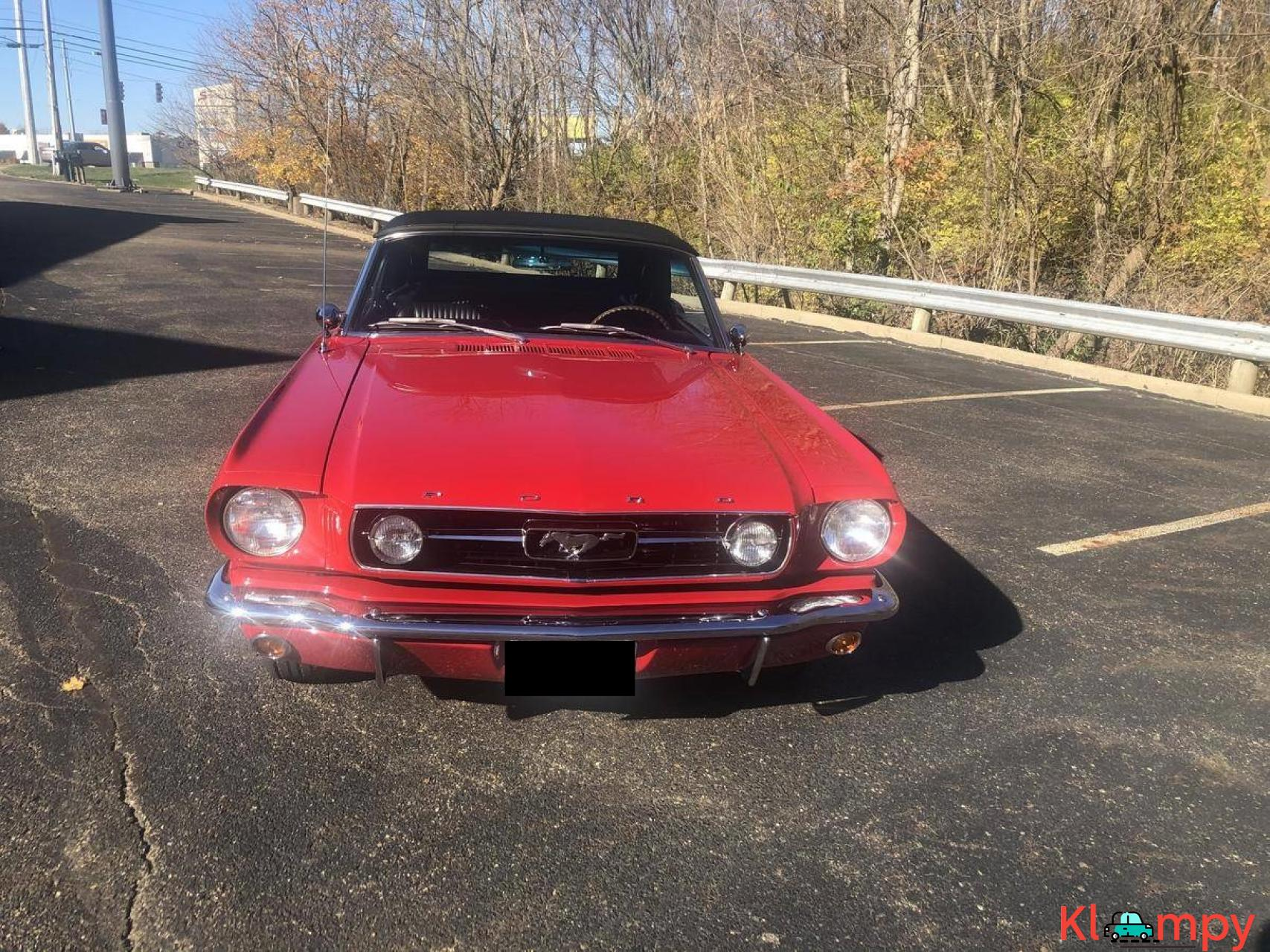 1966 Ford Mustang GT Convertible 302 - 8/20