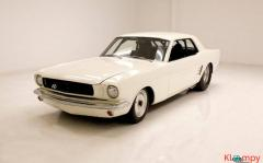 1966 Ford Mustang Coupe 302ci V8 White - Image 1/20
