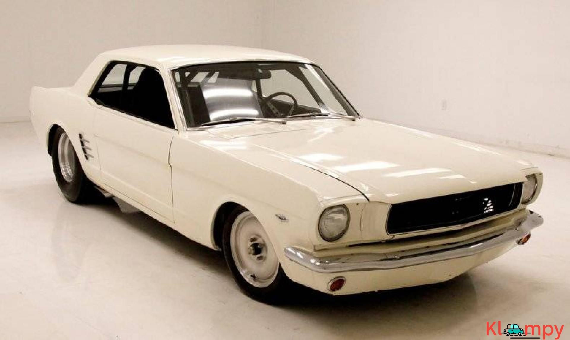 1966 Ford Mustang Coupe 302ci V8 White - 6/20
