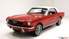 1965 Ford Mustang Coupe 289ci V8 2-barrel