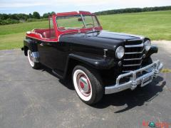 1950 Willys Jeepster Model VJ-3 134.1 cubic inch