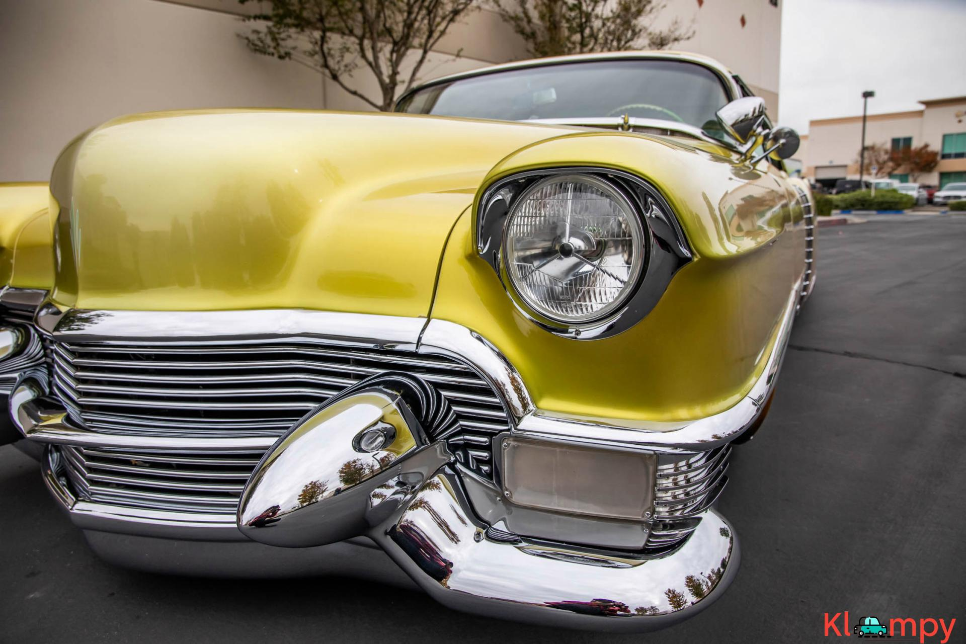 1954 Cadillac Coupe DeVille Lime Gold 331CI V8 - Kloompy