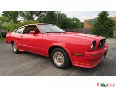 1978 Ford Mustang 302ci V8 Red - Image 2/17