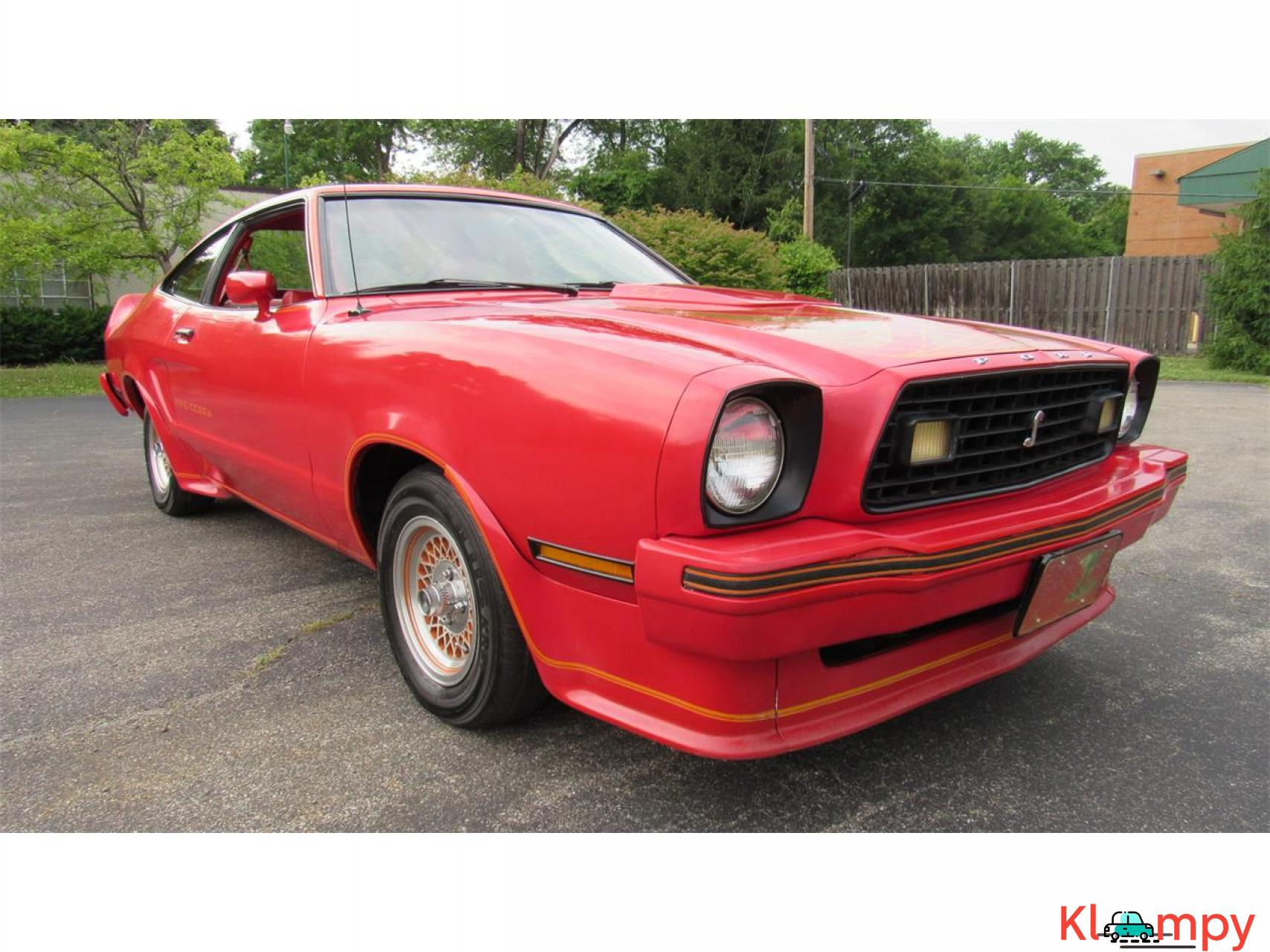 1978 Ford Mustang 302ci V8 Red - 3/17