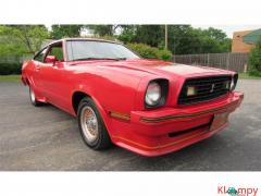 1978 Ford Mustang 302ci V8 Red - Image 3/17