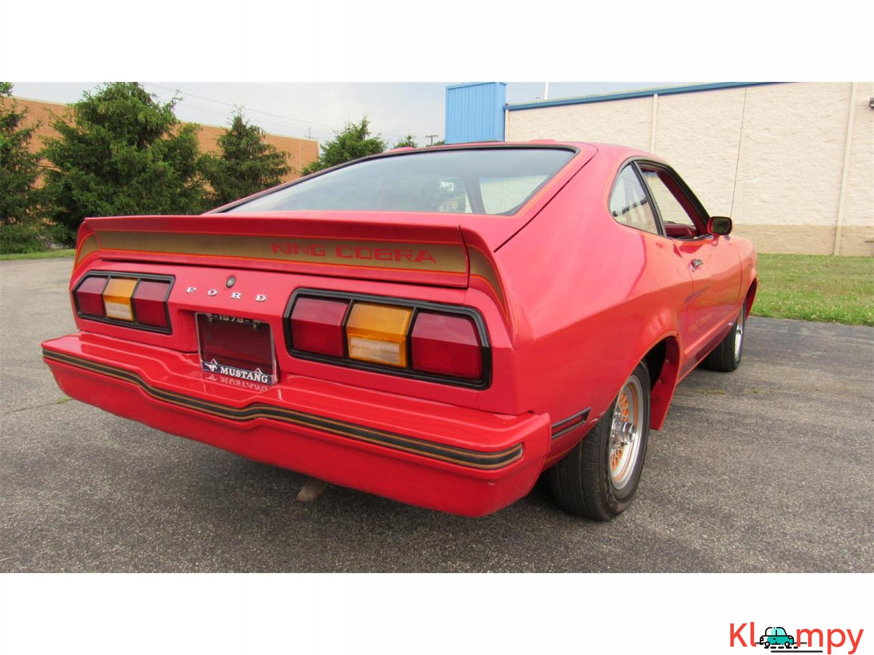 1978 Ford Mustang 302ci V8 Red - 4/17