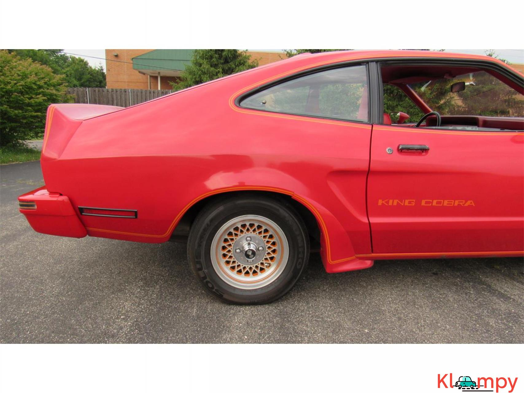 1978 Ford Mustang 302ci V8 Red - 7/17