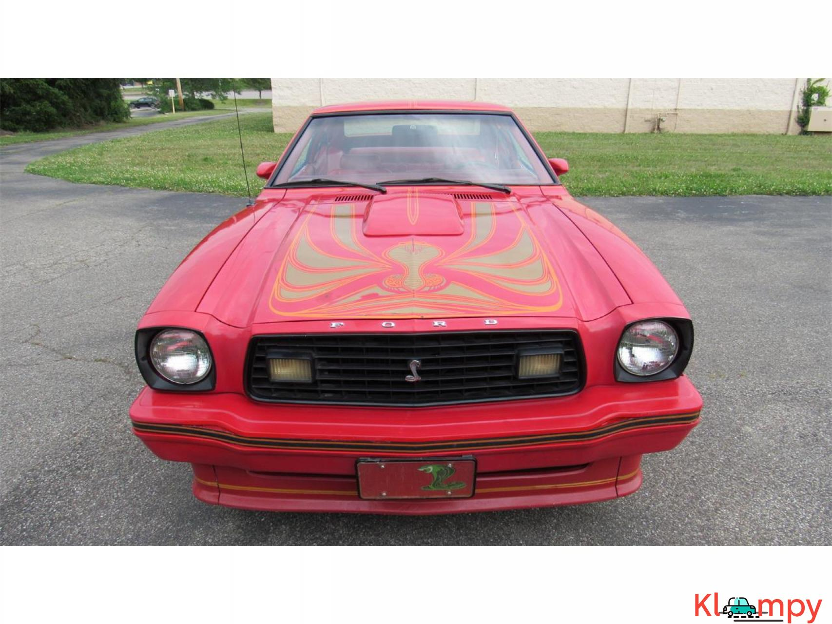 1978 Ford Mustang 302ci V8 Red - 9/17