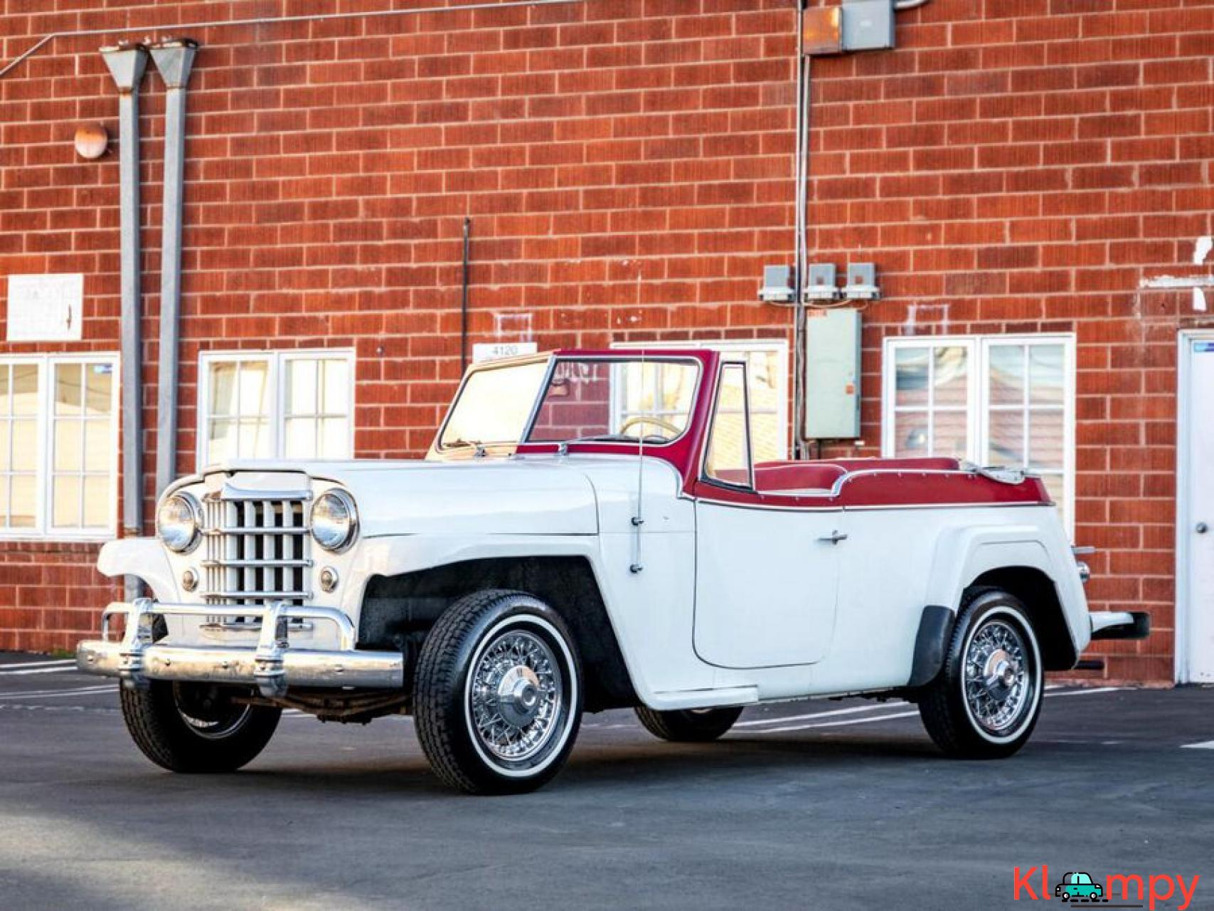 1951 Willys Jeepster Convertible 134.2 cu in 2.2 L - 1/17