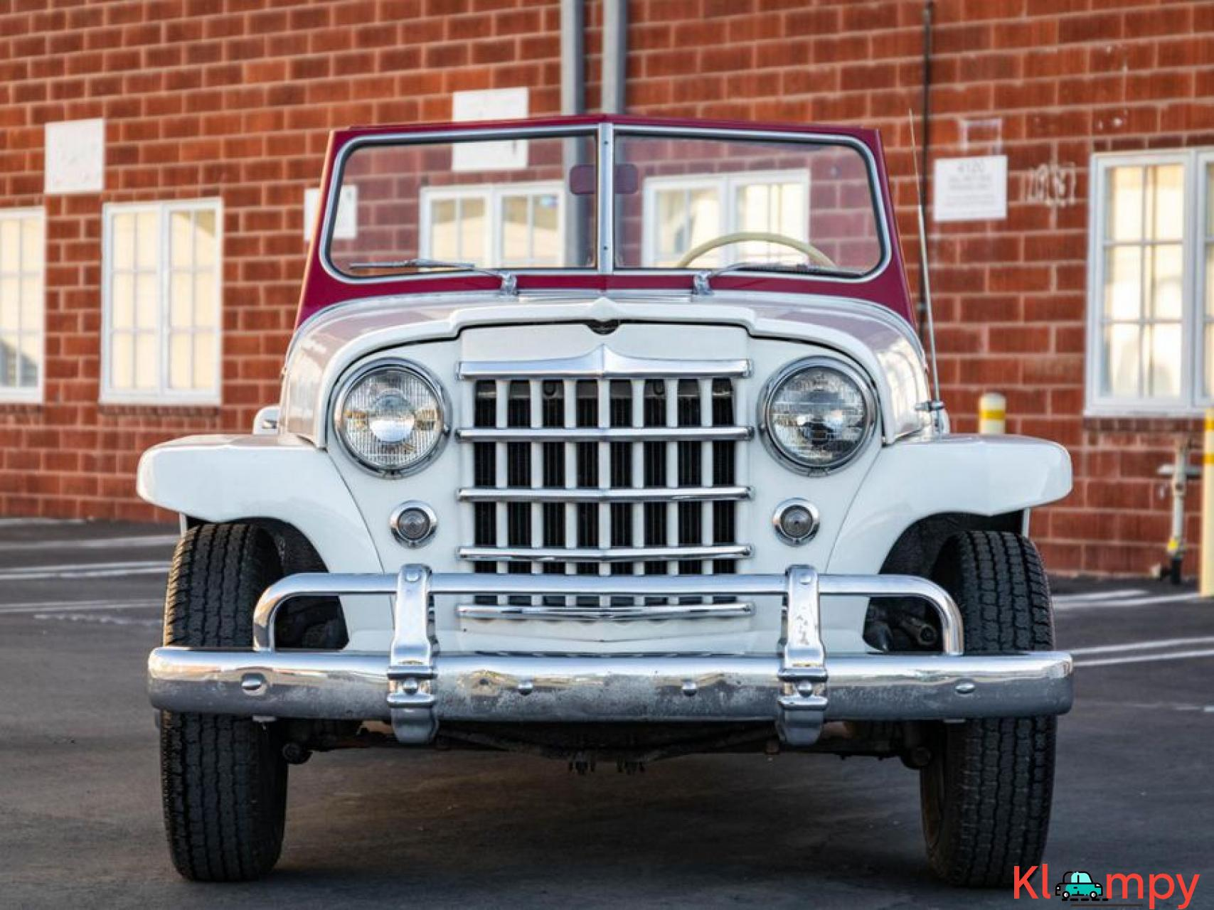 1951 Willys Jeepster Convertible 134.2 cu in 2.2 L - 2/17
