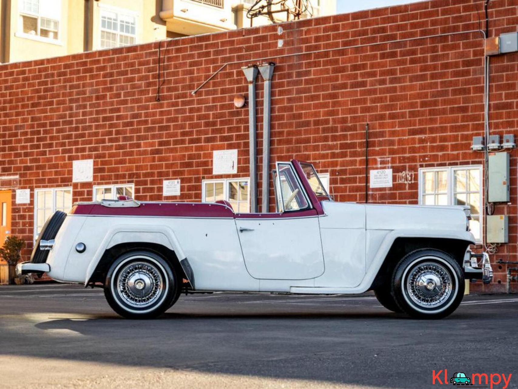 1951 Willys Jeepster Convertible 134.2 cu in 2.2 L - 3/17