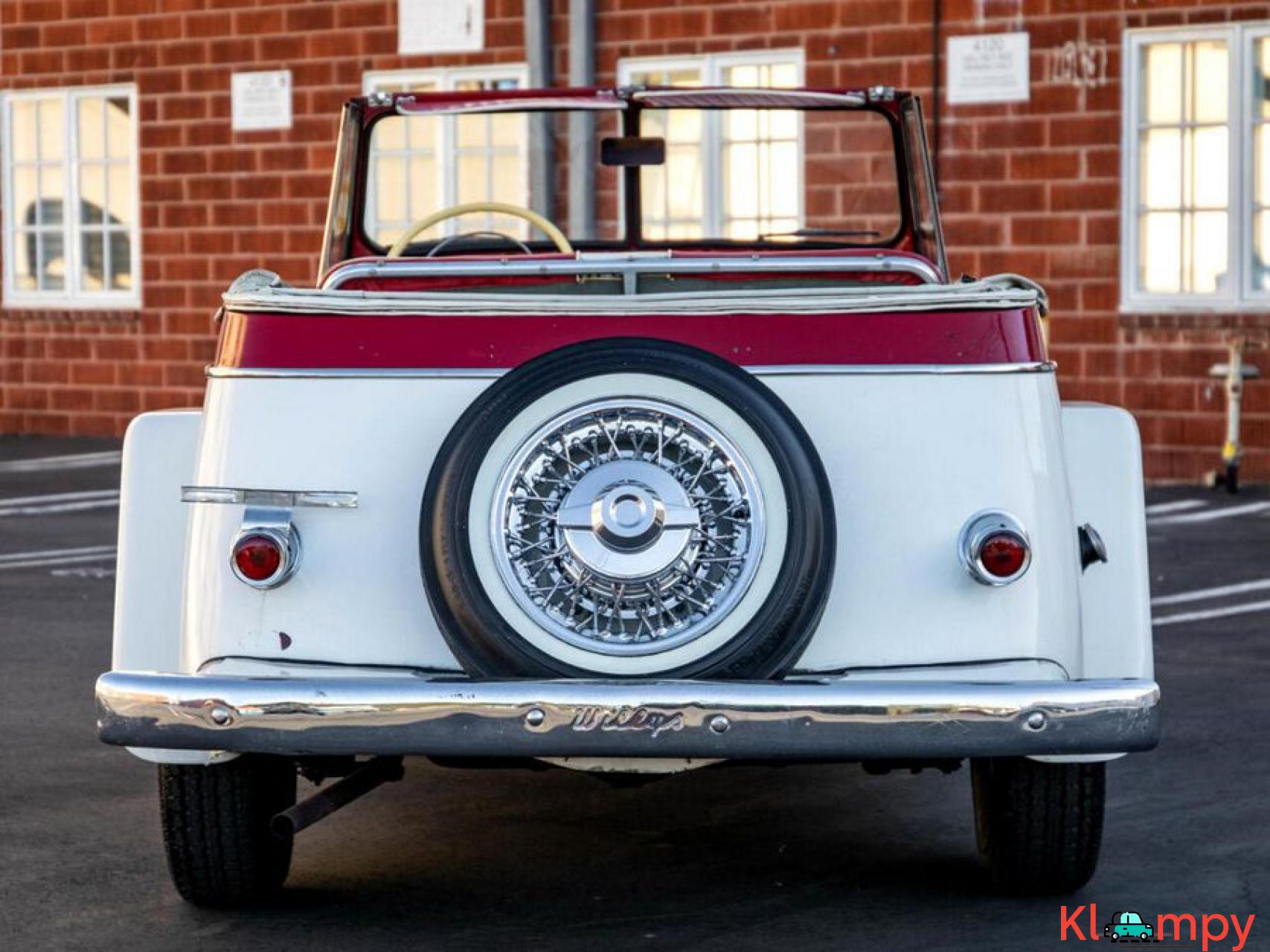 1951 Willys Jeepster Convertible 134.2 cu in 2.2 L - 4/17