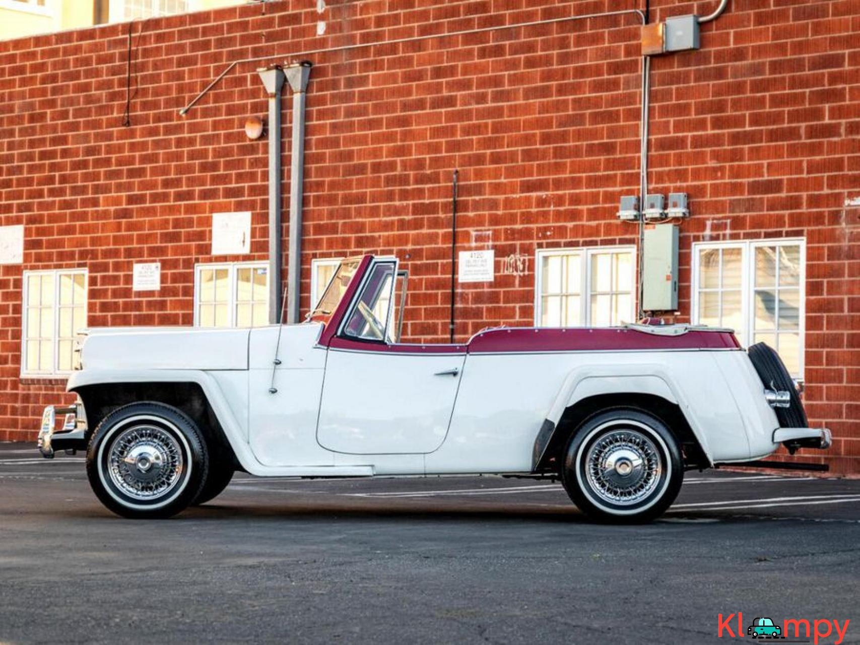 1951 Willys Jeepster Convertible 134.2 cu in 2.2 L - 5/17