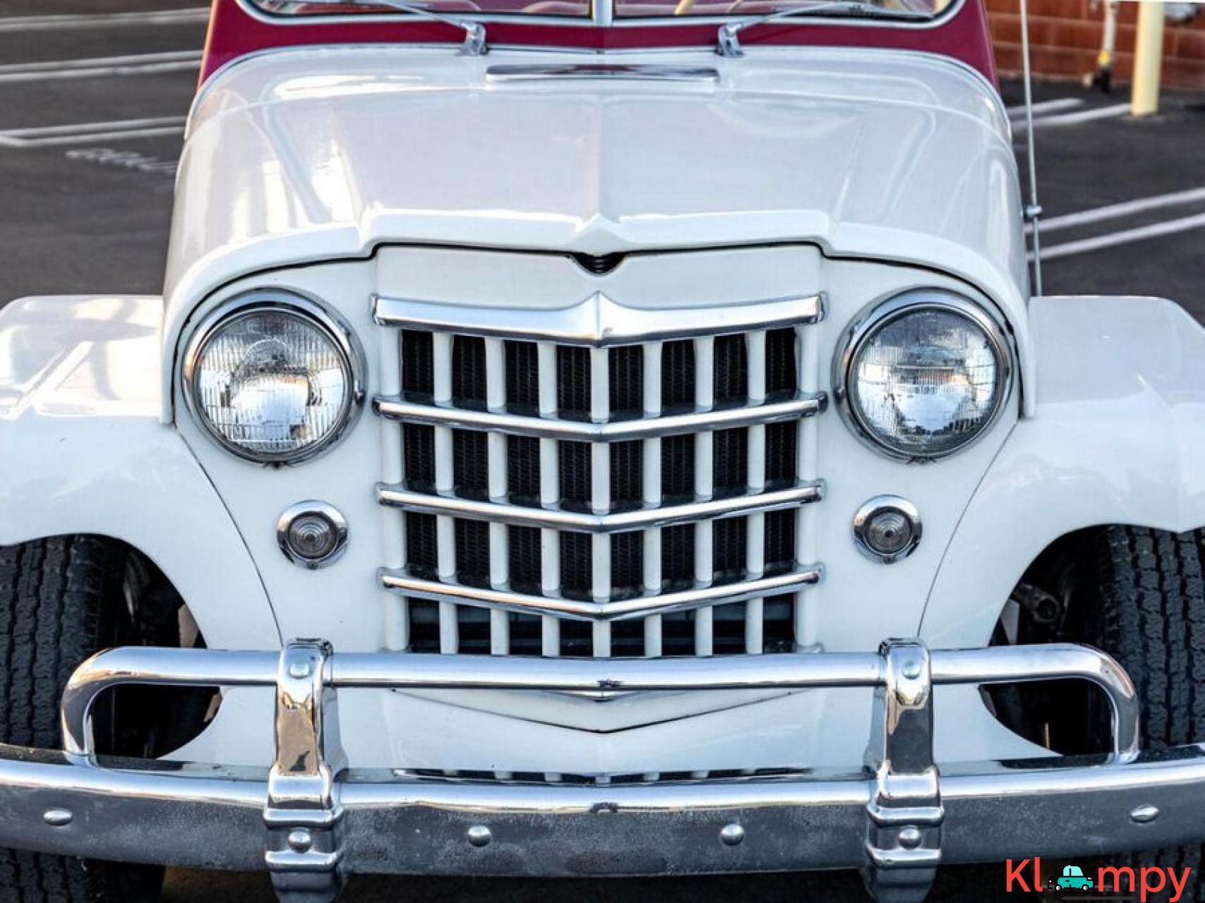 1951 Willys Jeepster Convertible 134.2 cu in 2.2 L - 6/17