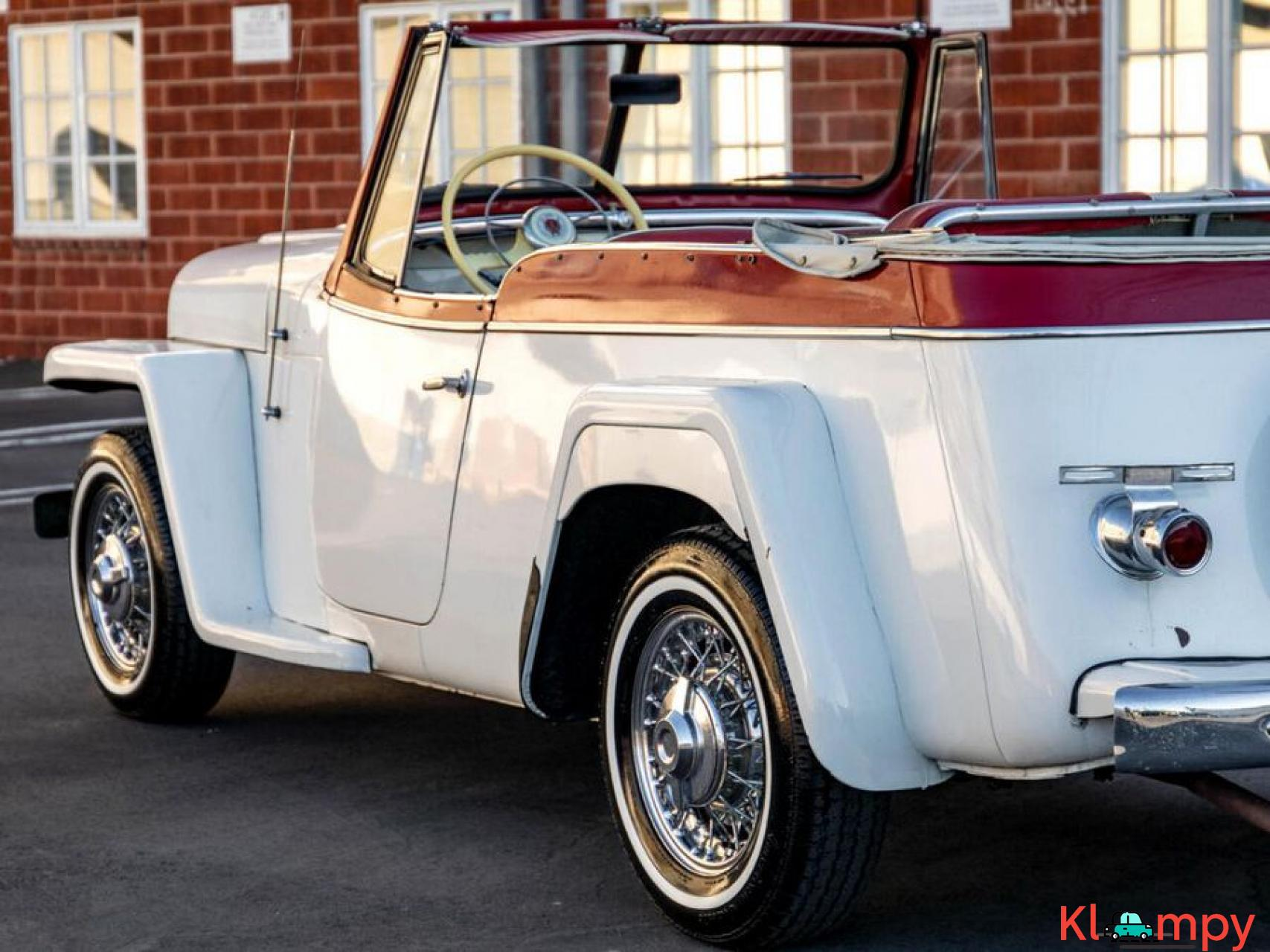 1951 Willys Jeepster Convertible 134.2 cu in 2.2 L - 8/17