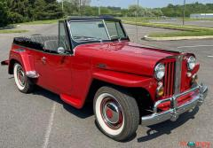 1948 Willys Jeepster Convertible GM 2.5 liter 4 cyl - Image 1/16