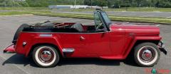 1948 Willys Jeepster Convertible GM 2.5 liter 4 cyl - Image 2/16