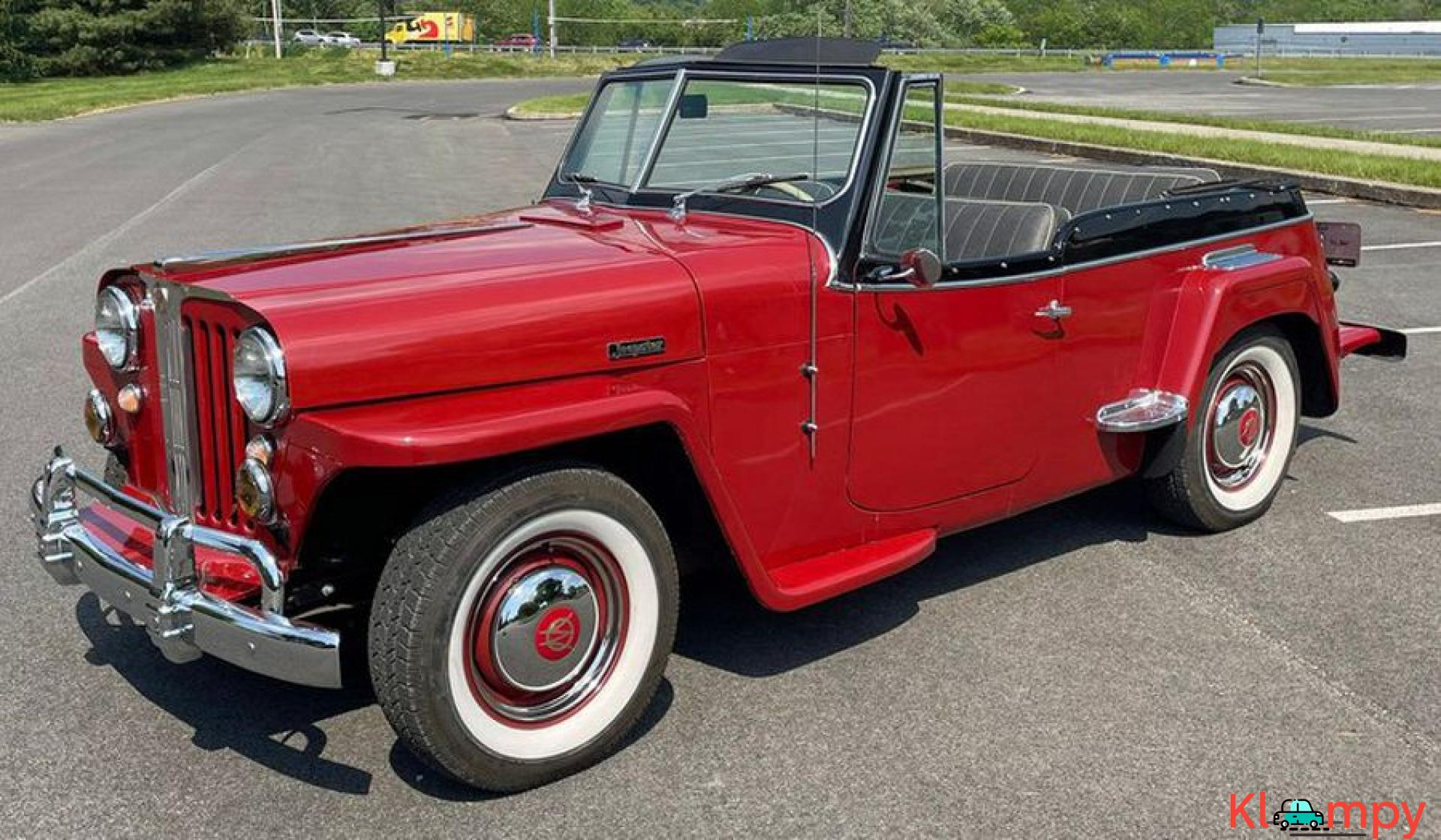 1948 Willys Jeepster Convertible GM 2.5 liter 4 cyl - 3/16