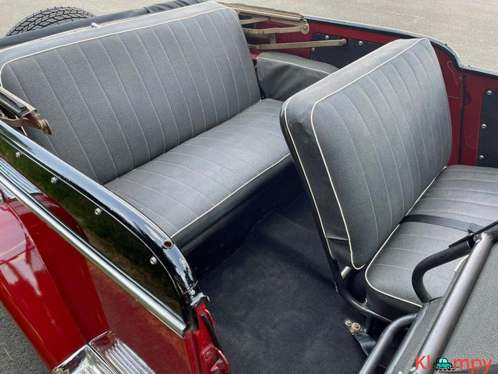1948 Willys Jeepster Convertible GM 2.5 liter 4 cyl - 6/16