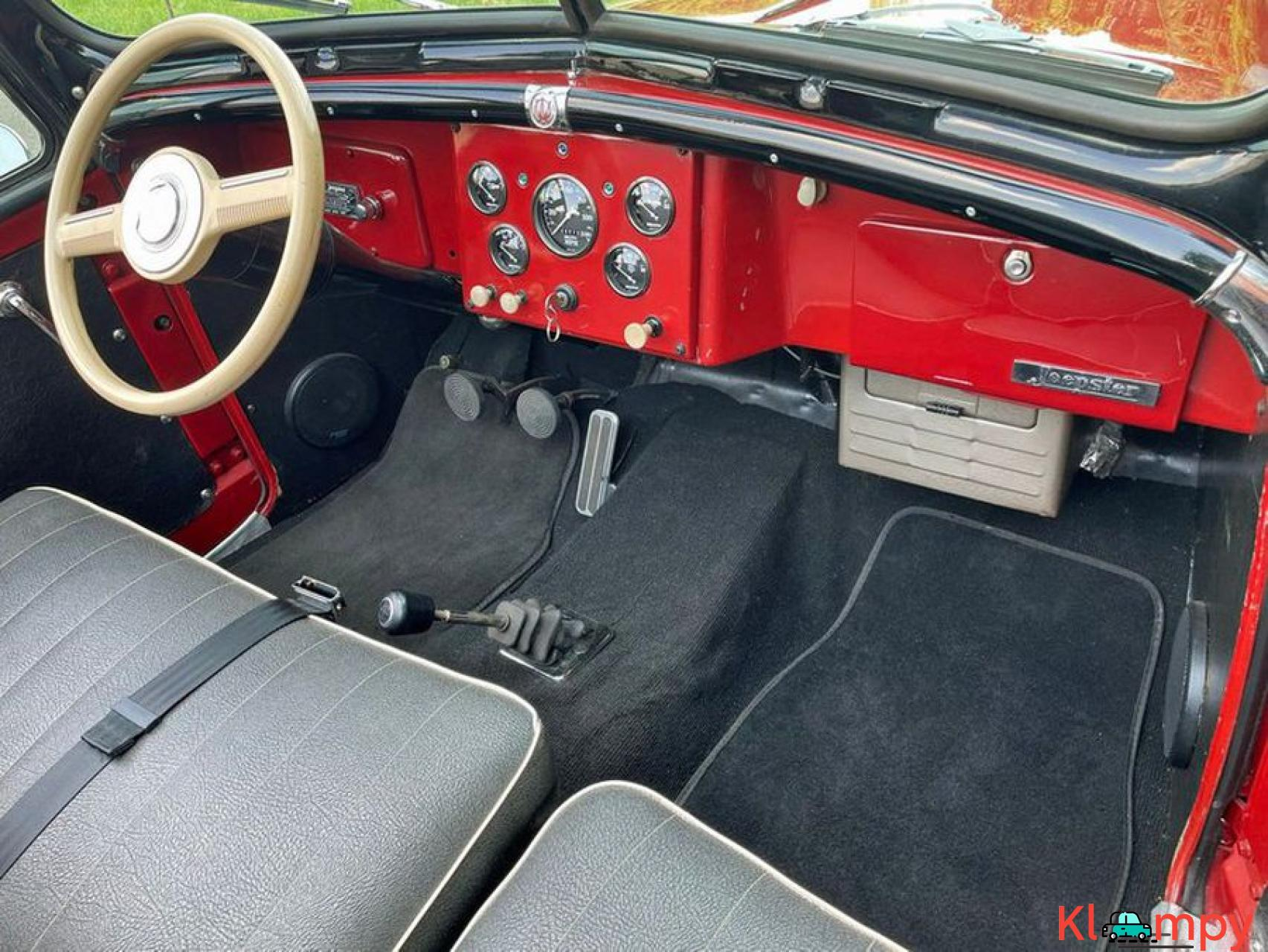 1948 Willys Jeepster Convertible GM 2.5 liter 4 cyl - 7/16