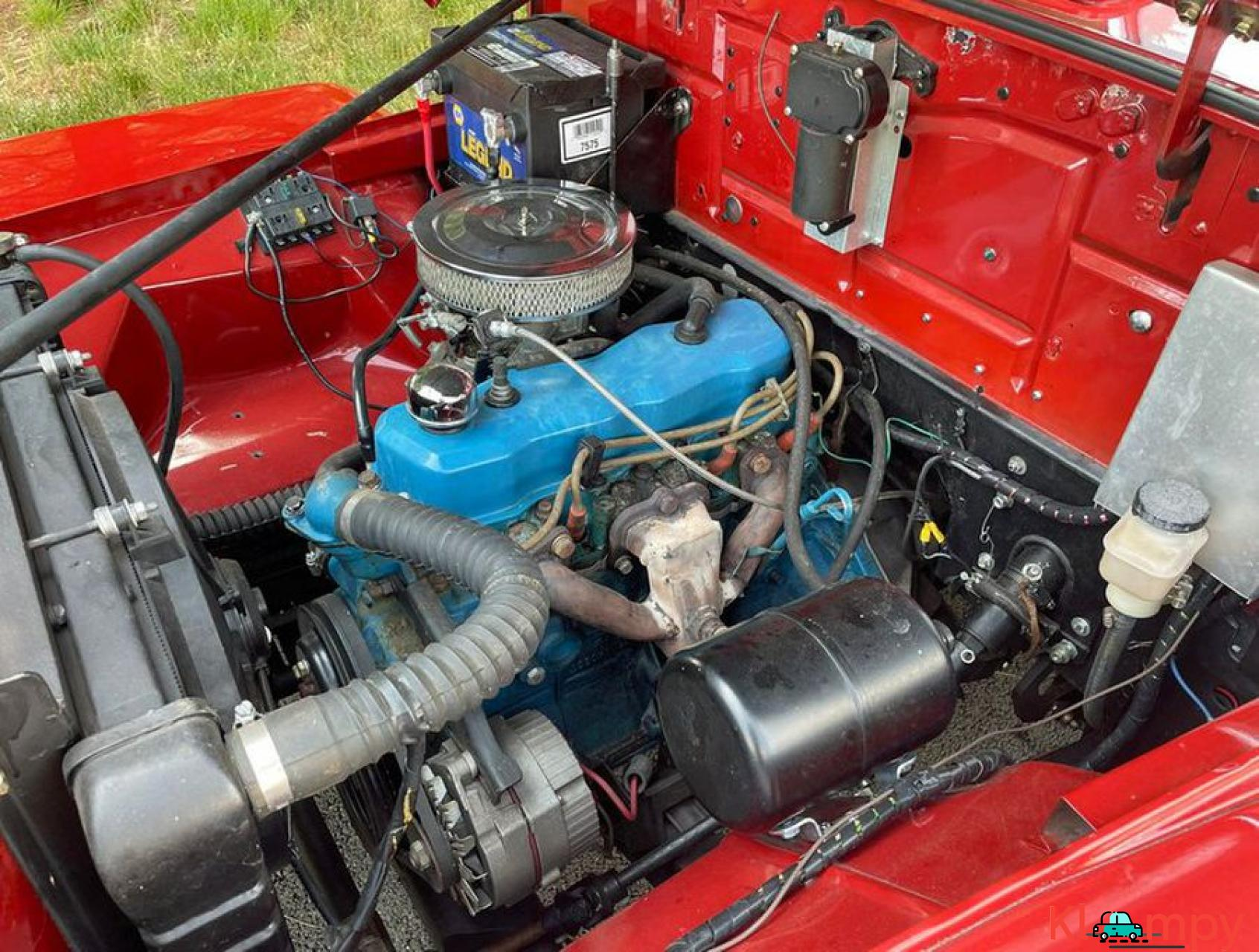 1948 Willys Jeepster Convertible GM 2.5 liter 4 cyl - 8/16