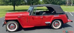 1948 Willys Jeepster Convertible GM 2.5 liter 4 cyl - Image 11/16