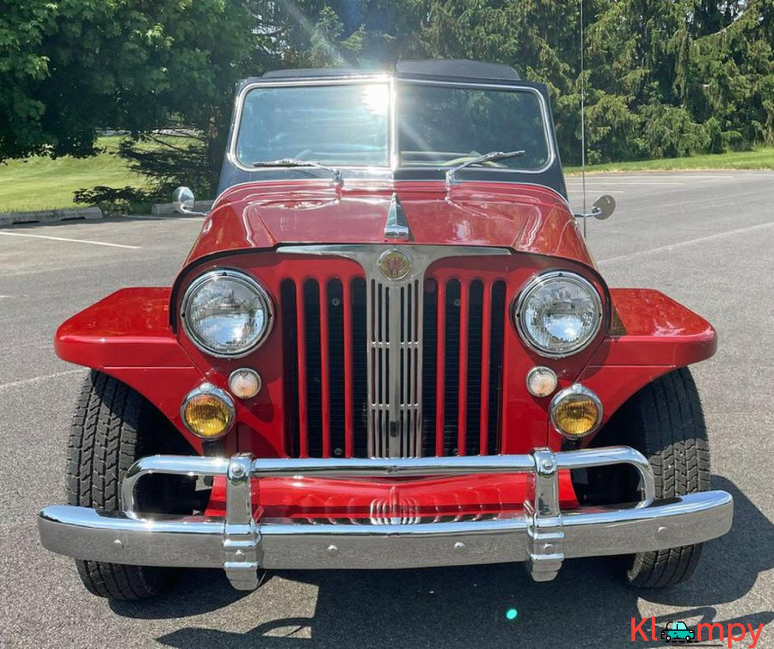 1948 Willys Jeepster Convertible GM 2.5 liter 4 cyl - 12/16