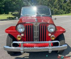 1948 Willys Jeepster Convertible GM 2.5 liter 4 cyl - Image 12/16