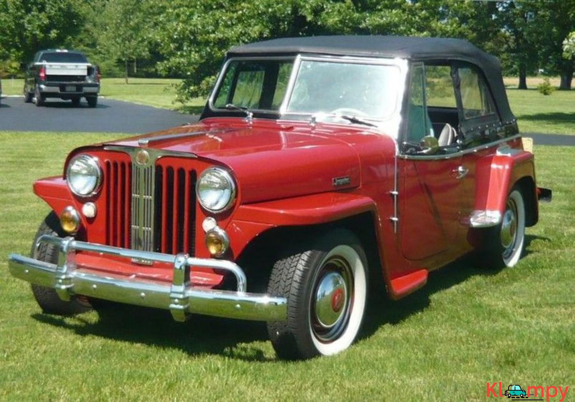 1948 Willys Jeepster Convertible GM 2.5 liter 4 cyl - 13/16