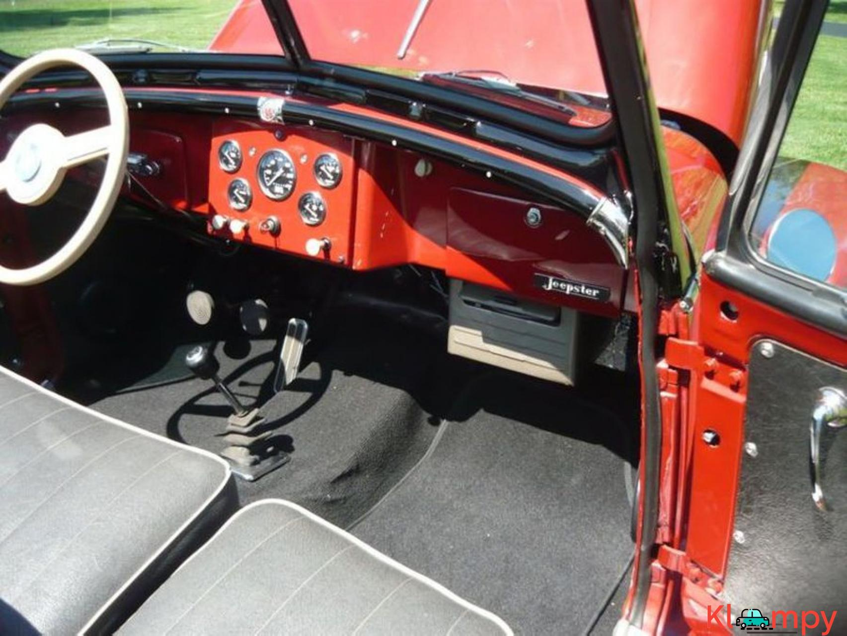 1948 Willys Jeepster Convertible GM 2.5 liter 4 cyl - 15/16
