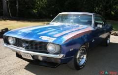 1969 Chevrolet Camaro Matching Numbers 307 cubic inch V-8