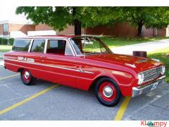 1963 Ford Falcon Deluxe Station Wagon 170 Ci - Image 5/17
