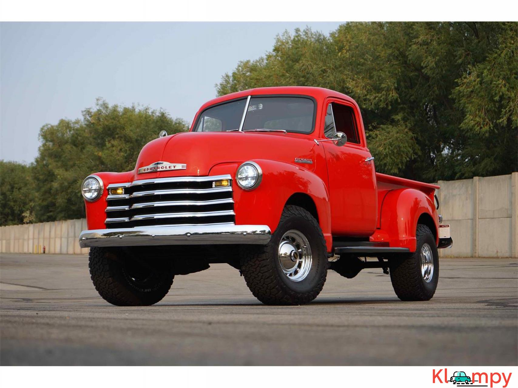 1951 Chevrolet 3100 350 V8 with a B&M Supercharger - 1/17