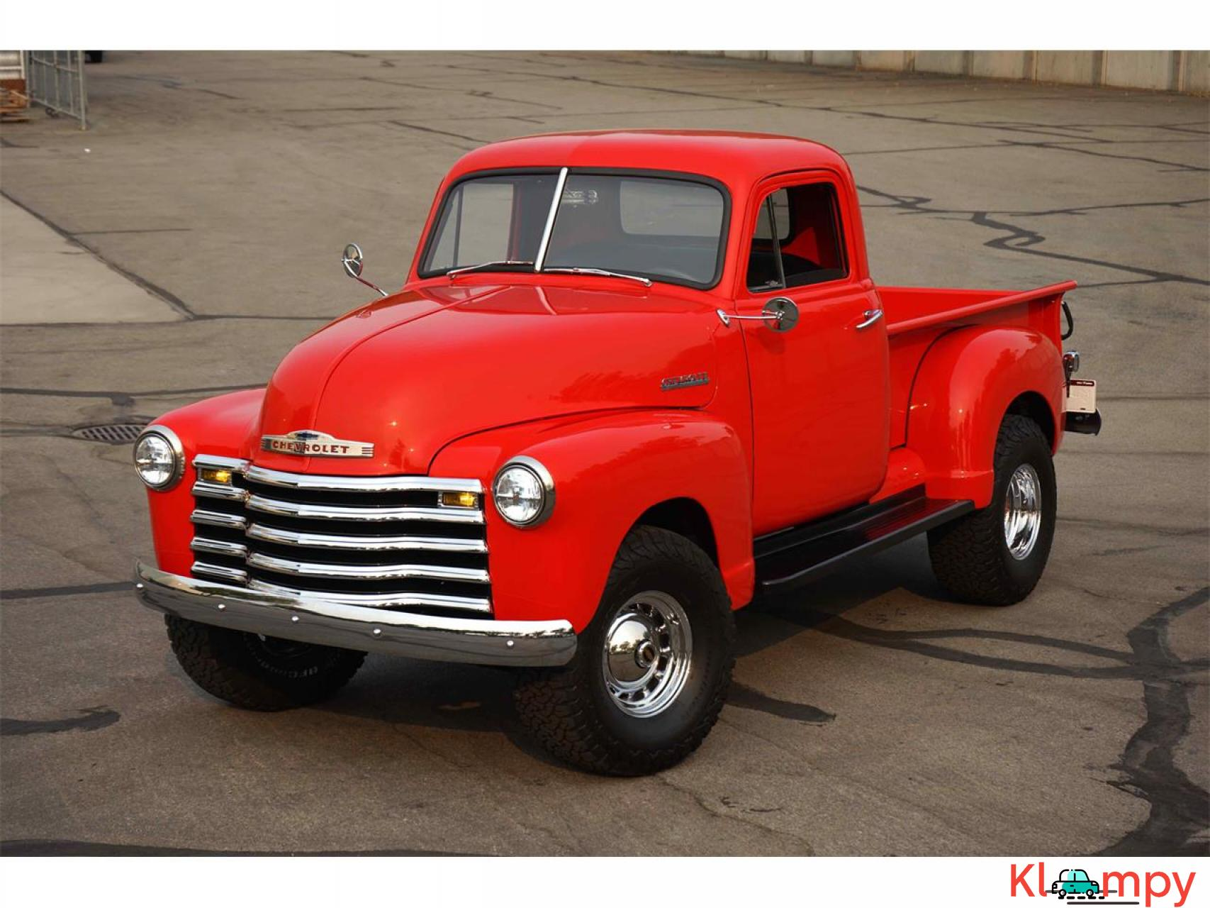 1951 Chevrolet 3100 350 V8 with a B&M Supercharger - 2/17