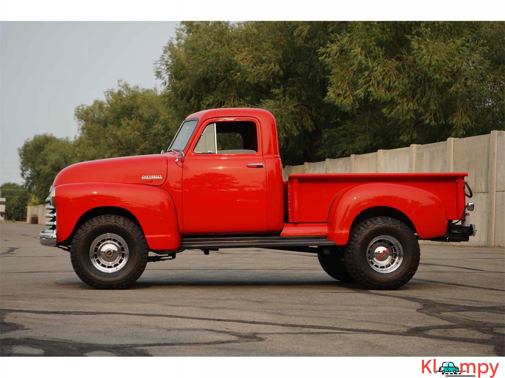 1951 Chevrolet 3100 350 V8 with a B&M Supercharger - 3/17
