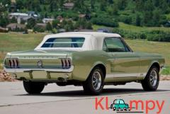 1967 Ford Mustang Convertible Lime Gold